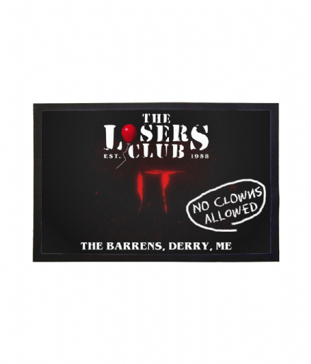 The Losers Club from Stephen Kings It Clubhouse Barrens Welcome Mat Doormat
